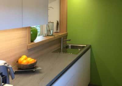 Zeitlose Küche mit modernen Elementen