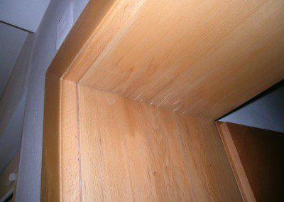 Wasserschaden im Obergeschoss mit Auswirkung bis ins Erdgeschoss.