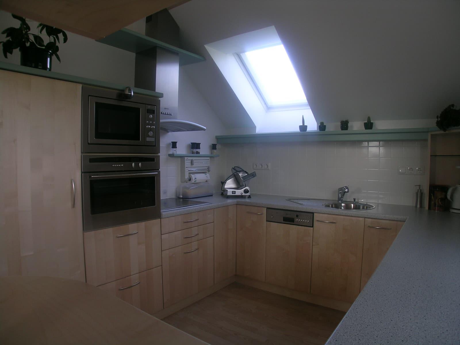 Fesselnde Küche In Dachschräge Beste Wahl U-küche Im Dachgeschoss.