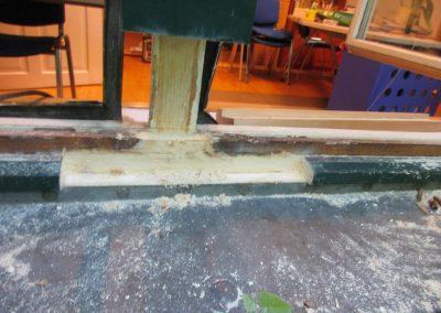 Sanierung eines alten Fensterstockes