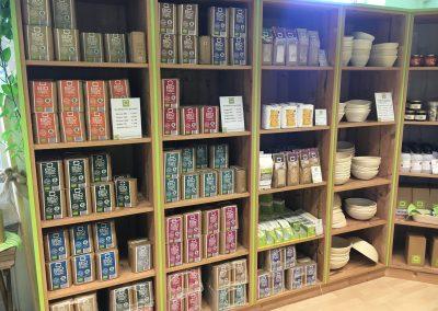 Ladenbau im BACKPROFI Shop von Christian Ofner in Gleisdorf.