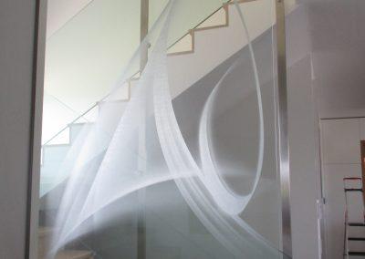 Designglas mit 3D Lasermotiv